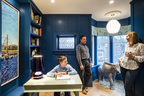 Favourite Room: The owners of this Toronto house have turned their turret into a library