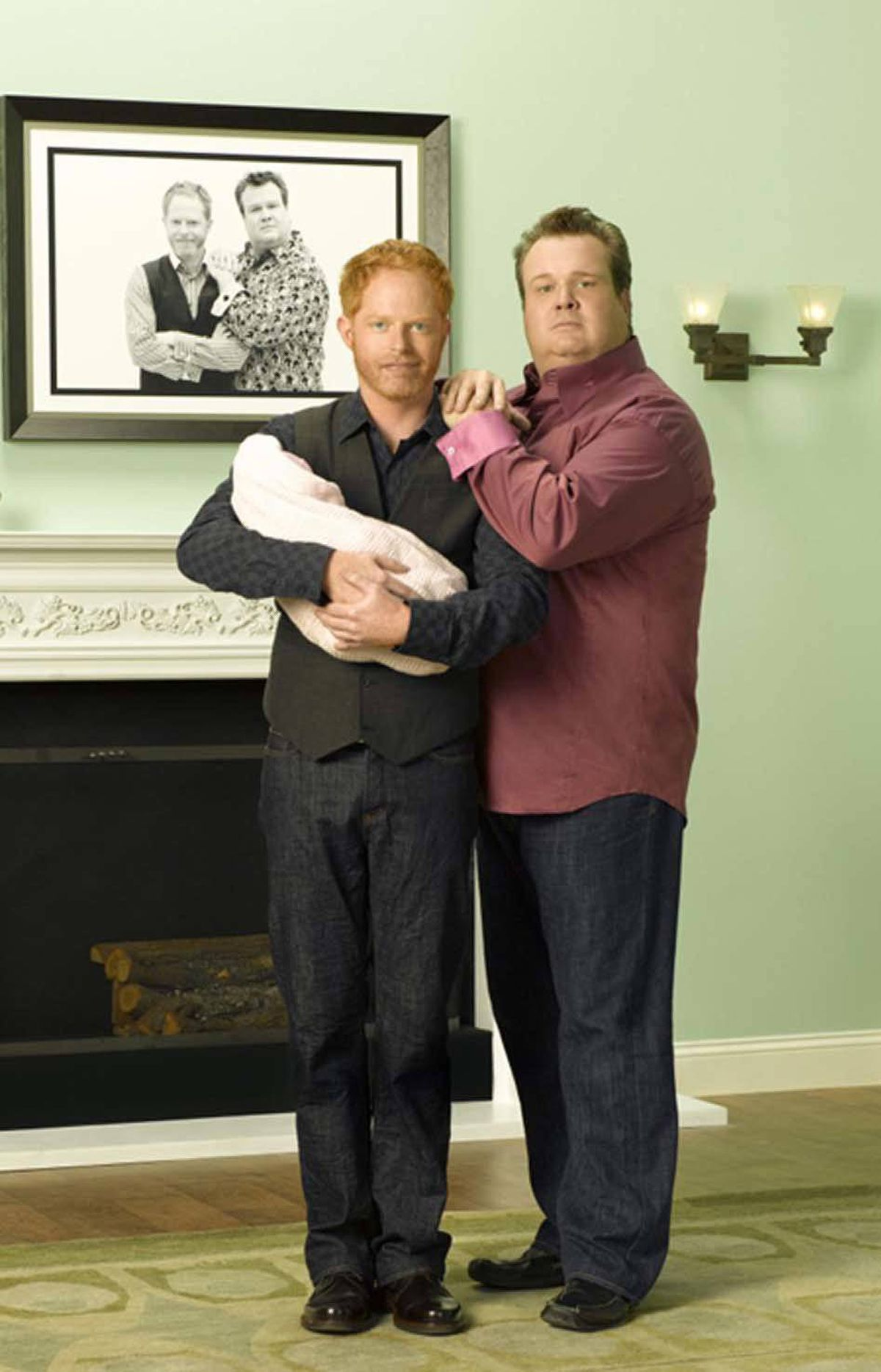 COMEDY Modern Family ABC, CITY-TV, 9 p.m. ET/PT The kids grow up so fast these days, don't they? Wrapping tonight, the third season of Modern Family has touched repeatedly on the efforts of the adorable gay couple Mitchell (Jesse Tyler Ferguson) and Cam (Eric Stonestreet) to adopt another child. They move closer to their dream tonight, but only if they can enlist Gloria (Sofia Vergara) to act as their translator with a Spanish-speaking adoption agent. That leaves Jay (Ed O'Neill) and Manny (Rico Rodriguez) to take Mitch and Cam's daughter Lily to her dance recital. Elsewhere, doting parents Phil (Ty Burrell) and Claire (Julie Bowen) get misty-eyed when youngest daughter Alex (Ariel Winter) goes off to her first prom, then shocked when their other daughter Haley (Sarah Hyland) announces her post-graduation plans. See you next fall.