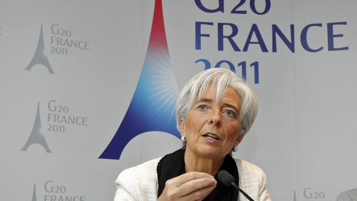 France's Economy Minister Christine Lagarde holds a news conference in Paris on Feb. 14, 2011.