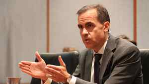 Bank of Canada Governor Mark Carney will pseak Tuesdai in Saint John. Peter Power/The Globe and Mail
