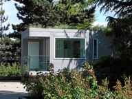 The 220 sq. ft. L41 prefab home can be mass produced says architect Michael Katz. Photos by Simon Scott