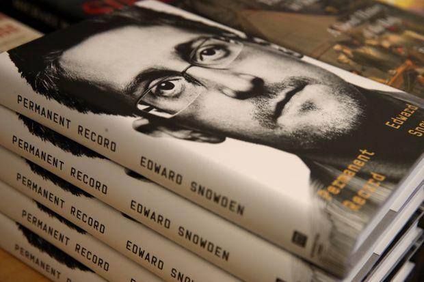 U.S. Justice Department files lawsuit against Edward Snowden over memoir