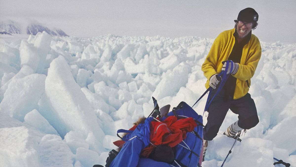 Back on the polar ice in the 21st century, the equipment may have changed, but the struggles haven't.