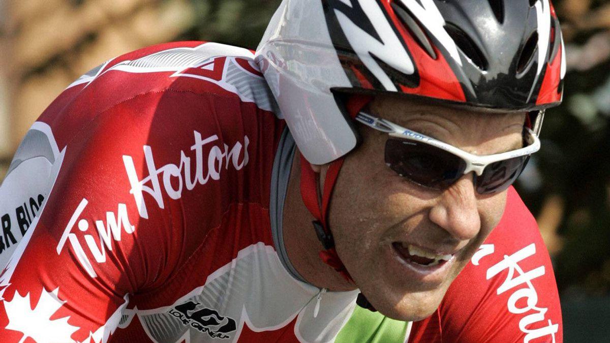 Canada's Svein Tuft has joined new Australian racing team GreenEdge Cycling. (AP File Photo/Antonio Calanni)