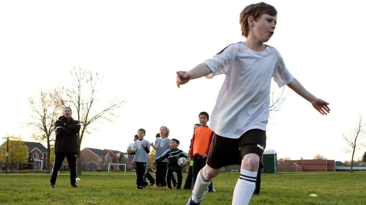 """Alex Chiet, the technical director for the Ontario Soccer Association says """"parents may not understand how detrimental it is to overemphasize winning, so they think we're being too politically correct, that we're trying to water down the experience."""""""