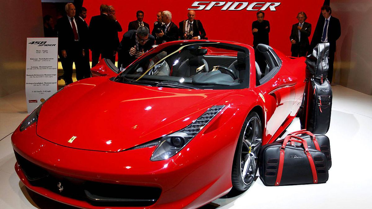 The Ferrari 458 spider