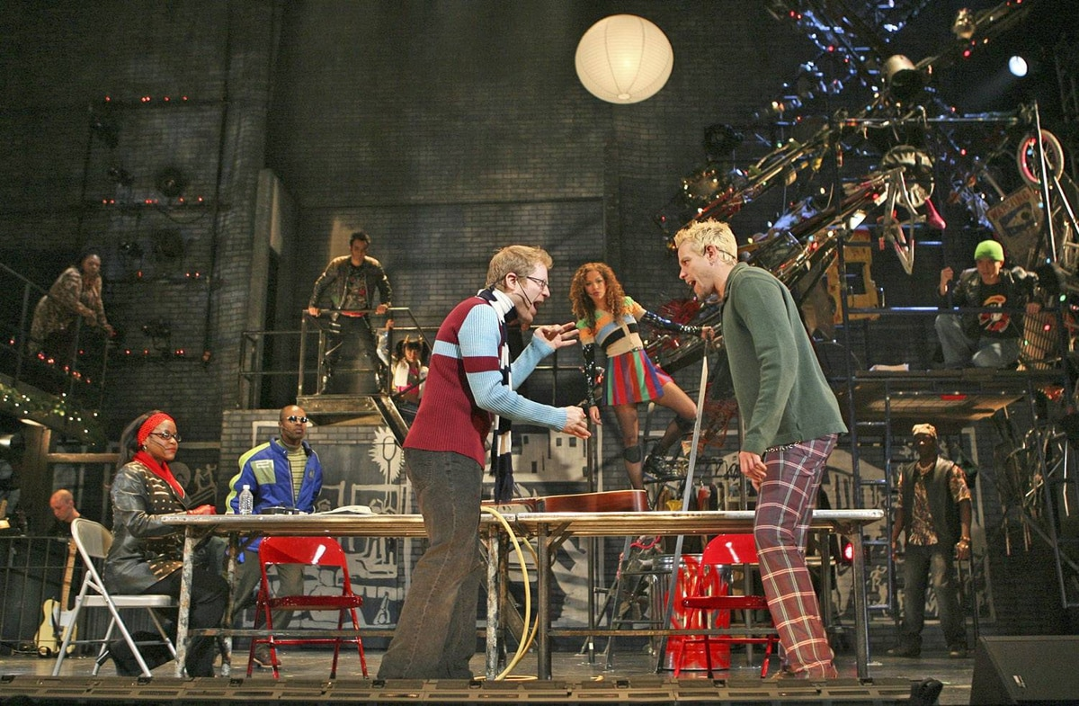 The current touring production of Rent includes three members of the original 1996 cast.