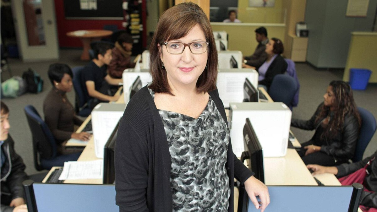 Allison Pond is executive director of the ACCES Employment locations in the Greater Toronto Area. The agency _ funded by government as well as private institutions _ serves about 15,000 clients each year.