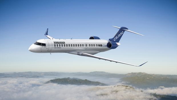 Bombardier reinvents regional jet in a bet on business and first-class travel