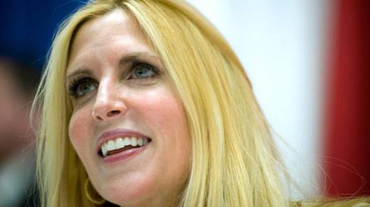 Ann Coulter appears at a book signing at the Conservative Political Action Conference, in Washington, February 19, 2010.