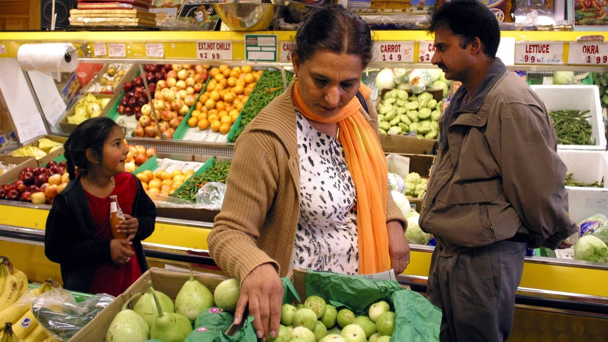 A South Asian grocery store in the Toronto area
