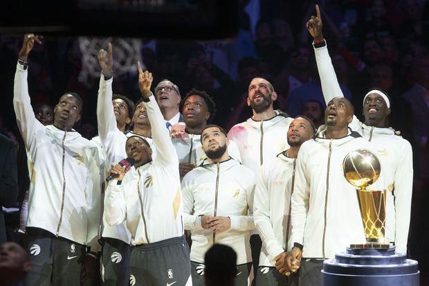Raptors snub home fans, Kawhi Leonard during interminable opening night celebrations