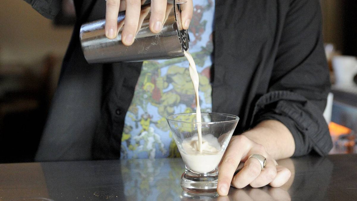 Bartenders will be the new pastry chefs, turning out sweet drinks such as the cream-based brandy Alexander.