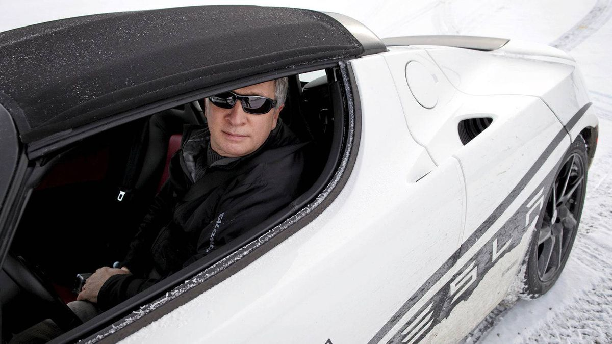 Peter Cheney takes the much-hyped Tesla Roadster out for a spin. No one mistook him for Leonardo DiCaprio.