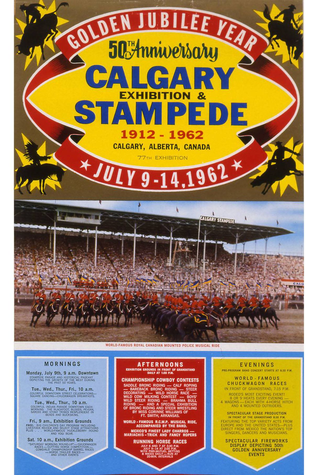 Images Of Stamped Concrete Patios: In Pictures: A Century Of Calgary Stampede Posters