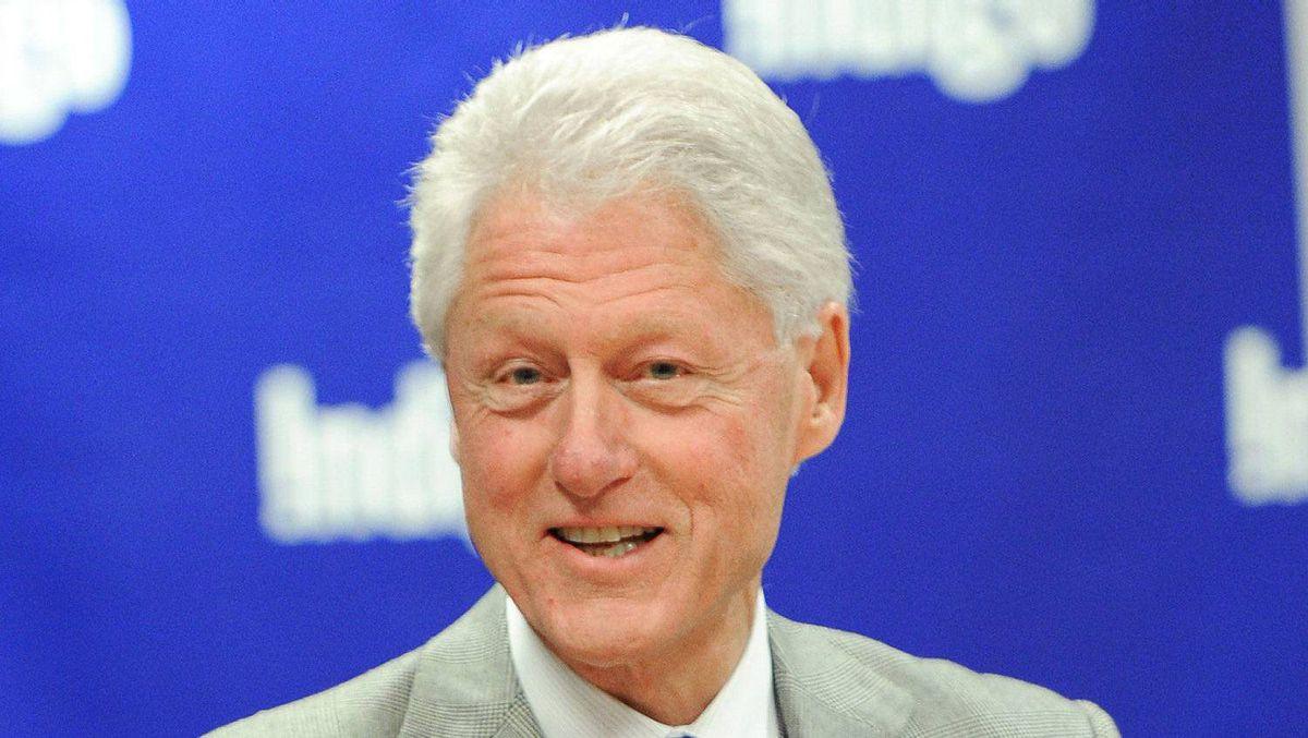 "Bill Clinton, a Rhodes Scholar, visits Indigo to promote his new book ""Back to Work"" at Indigo Manulife Centre on November 21, 2011 in Toronto, Canada."