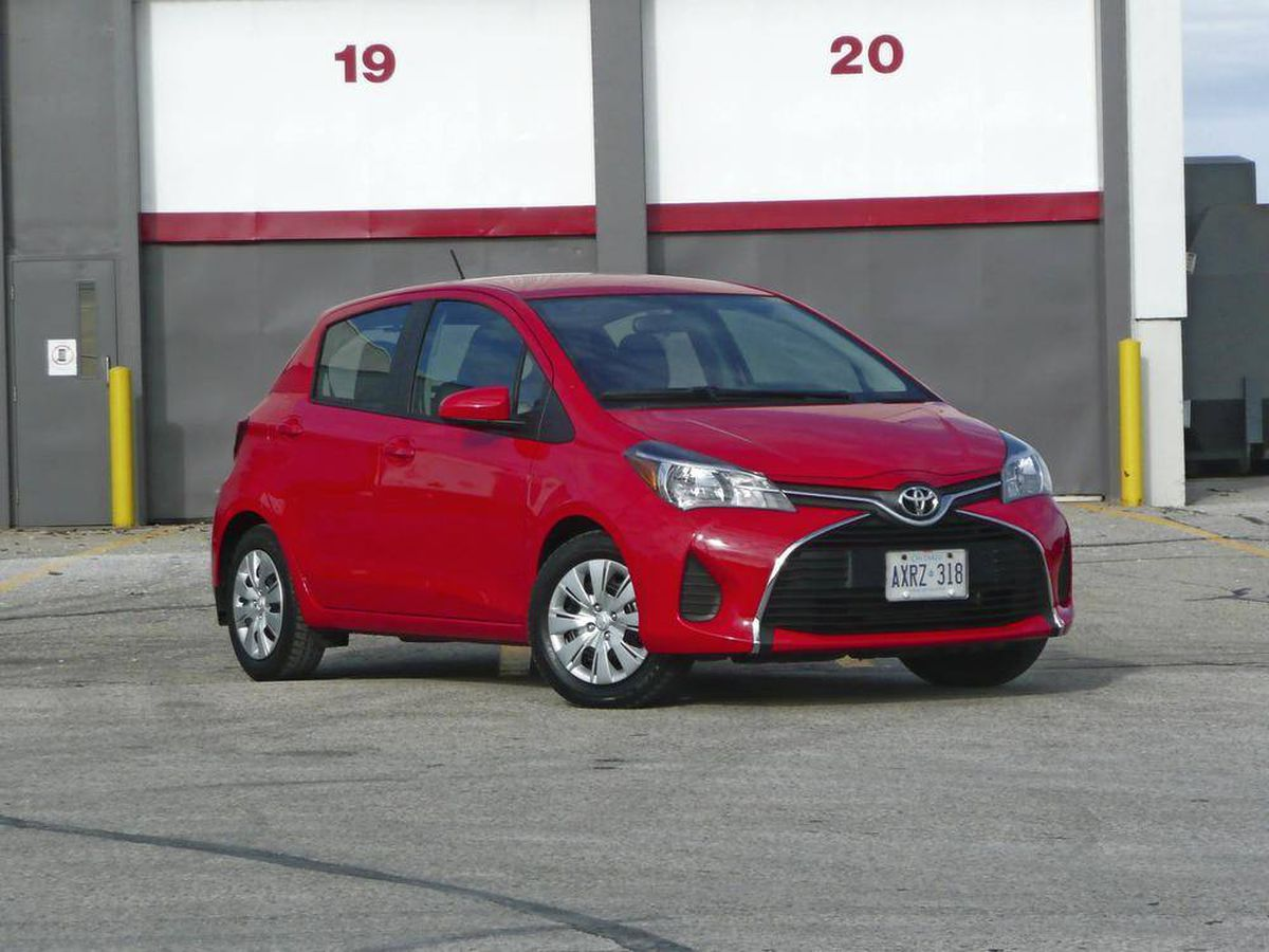 Review 2015 Toyota Yaris Still No Fiesta Or Fit The Globe And Mail 2012 Ford Fuel Filter For