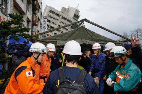 Deadly Taiwan Earthquake Felt in South China