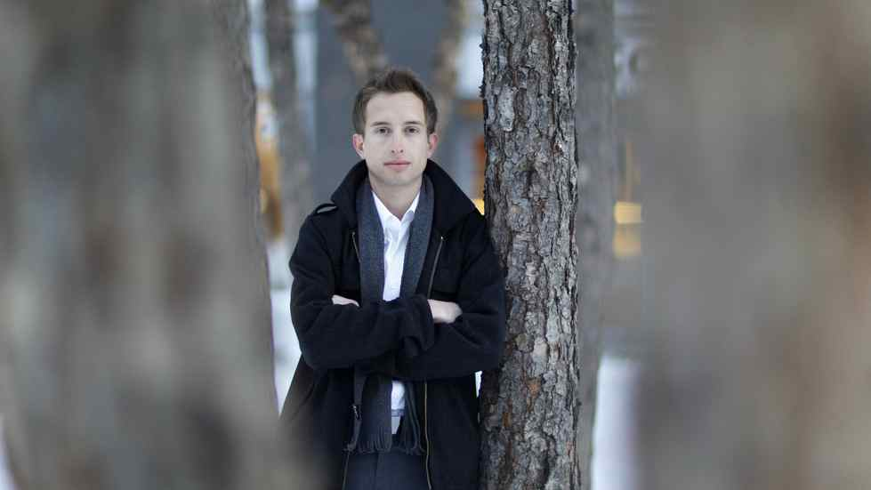 Paul Marai, photographed in Toronto on Jan. 10, 2011, is a 22-year old gay Halton Catholic School Board Trustee who spoke to The Globe and Mail with his reactions to comments from Alice Ann Lemay, the school board chair, that compare gay/straoight alliance groups in high schools to Nazi groups.
