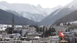 What will be the theme at the Davos summit in January of 2011?