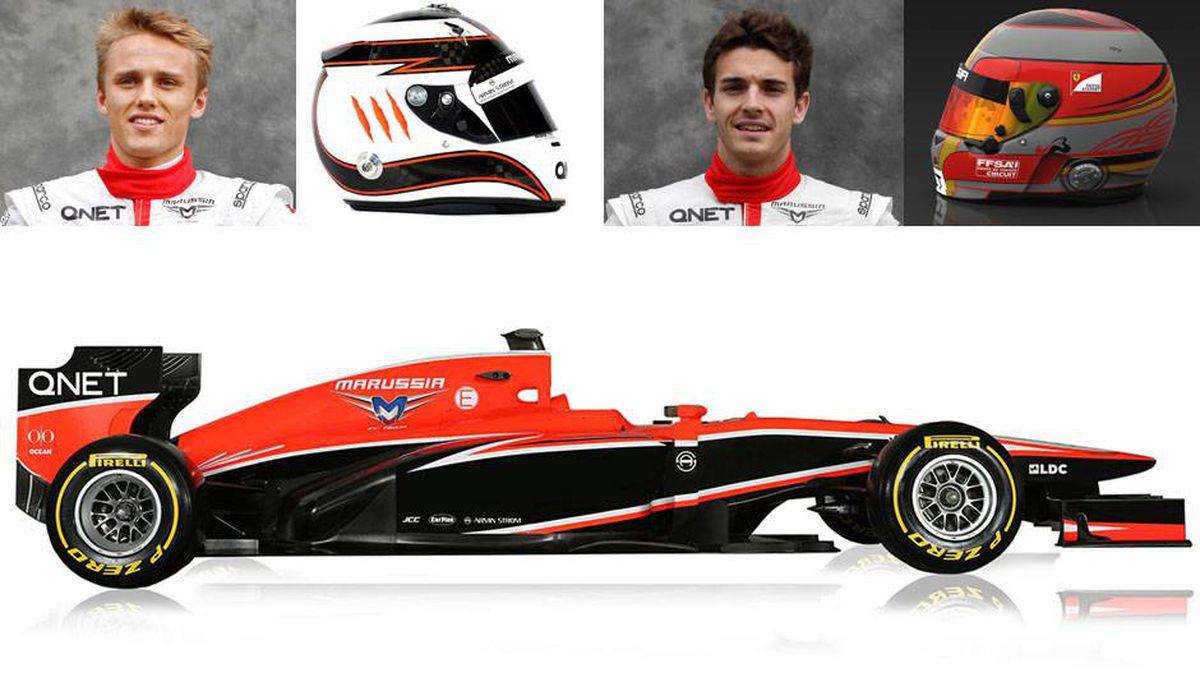 Marussia and Reuters