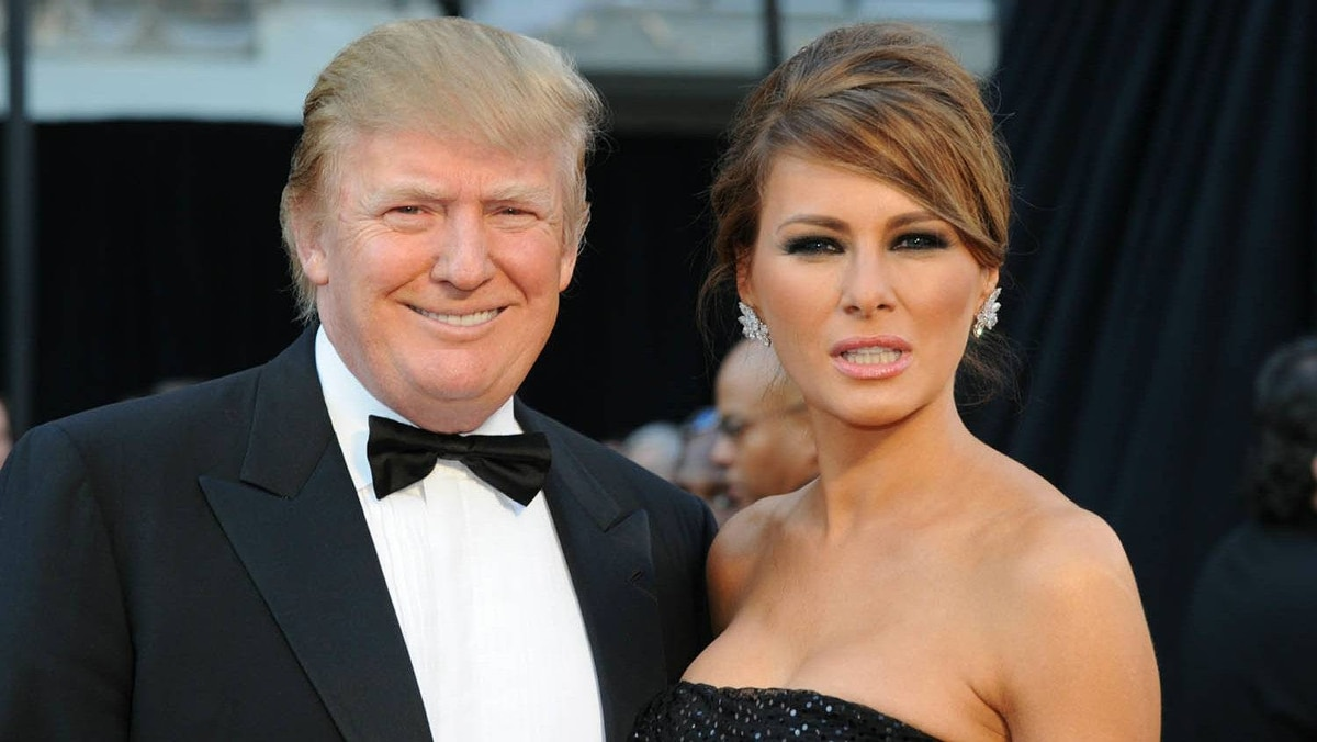 Donald Trump and his wife, Melania, arrives on the red carpet for the 83rd Annual Academy Awards held at the Kodak Theatre on Feb. 27, 2011 in Hollywood.