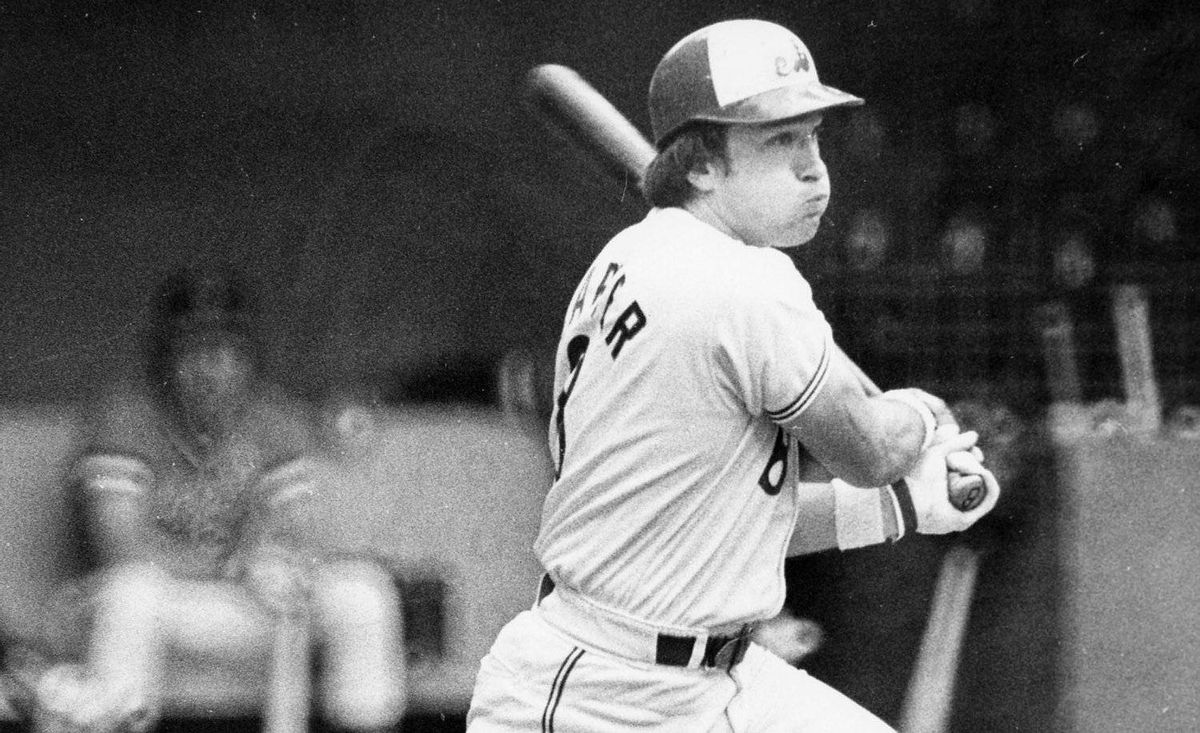 Montreal Expos catcher Gary Carter follows through on a home run swing during National League action in Montreal, July 10, 1979. Baseball owners have voted overwhelmingly to begin work on killing off two of their weaker sisters. In baseball terms, it's called contraction and it could spell the end of the Montreal Expos and their rich history.