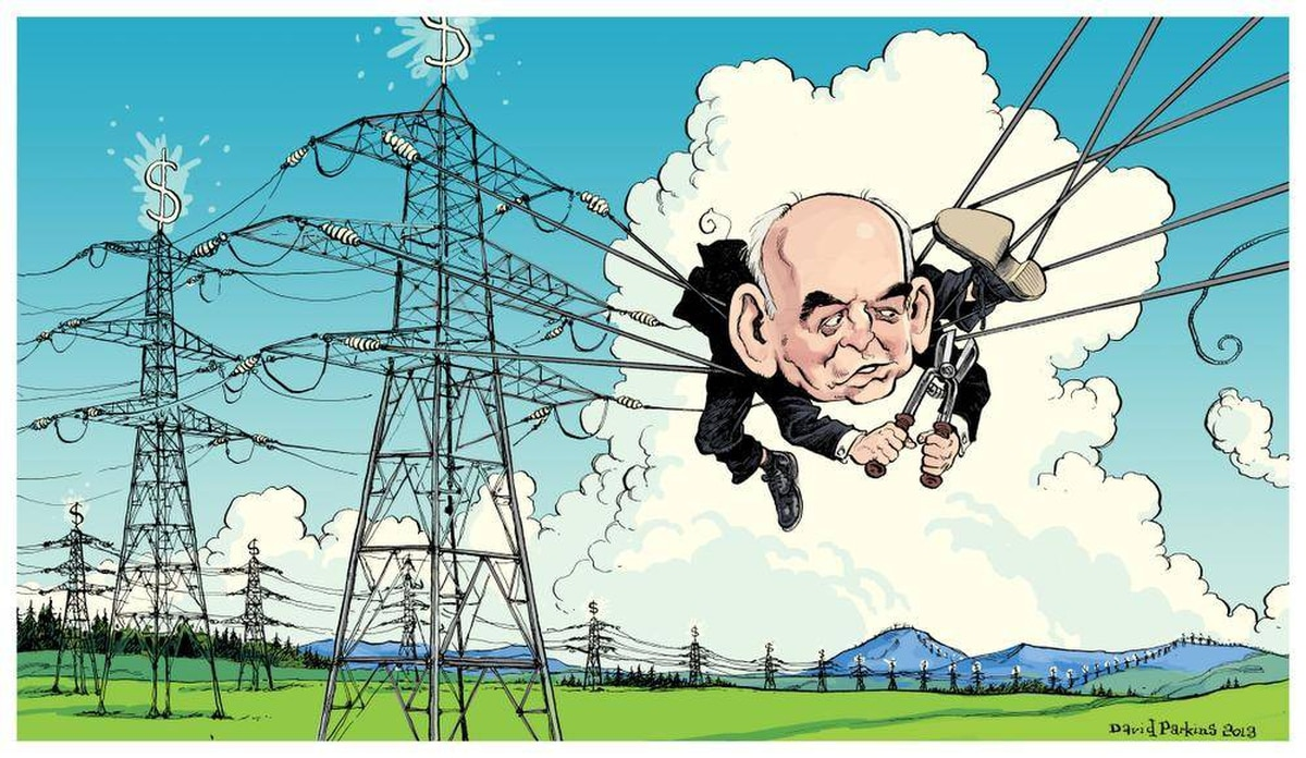 David Parkins For the Globe and Mail