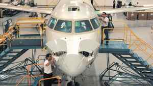 Bombardier CRJ Facility, Mirabel, Quebec.