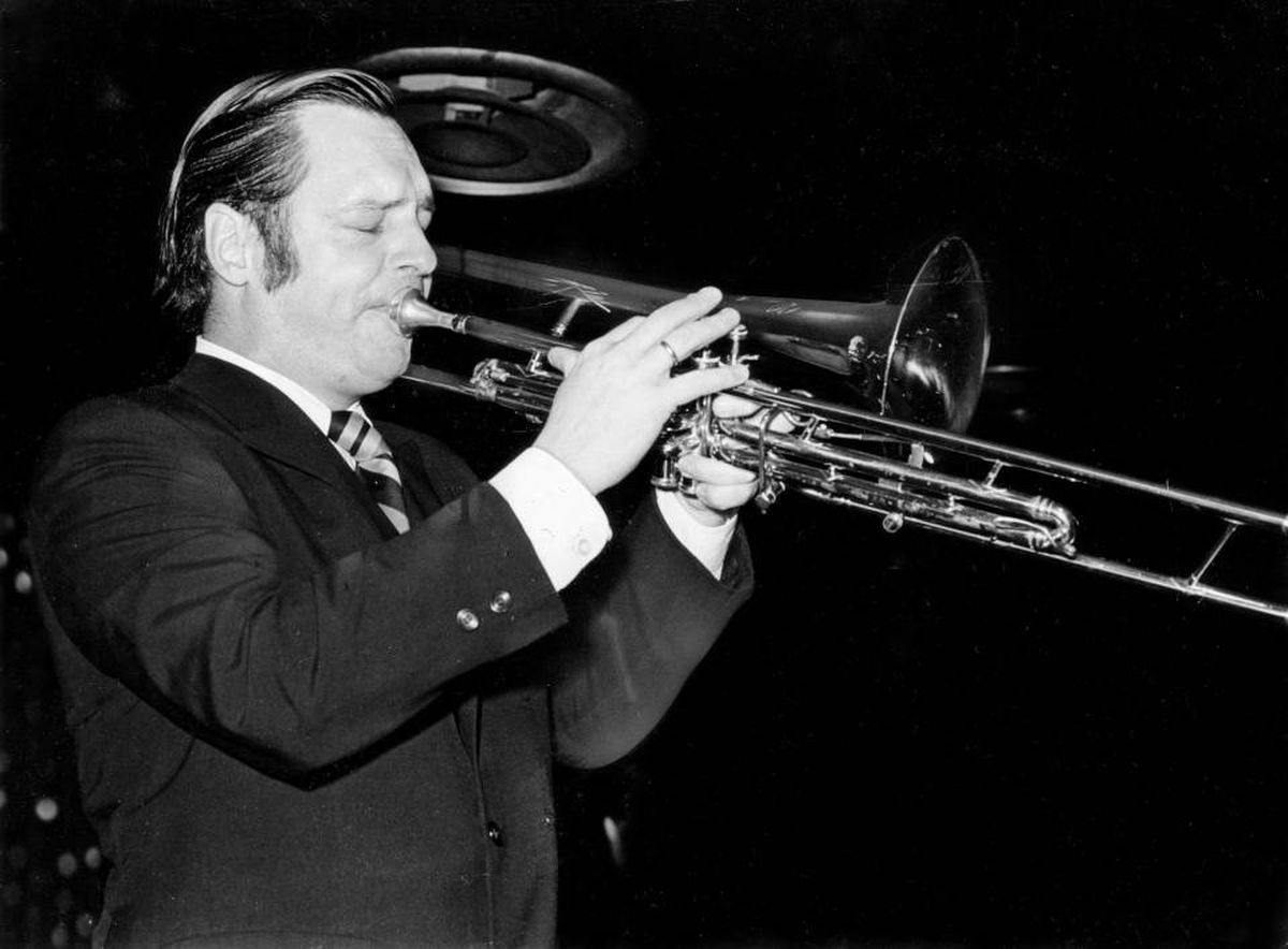 Rob McConnell at the Savarin in 1969.