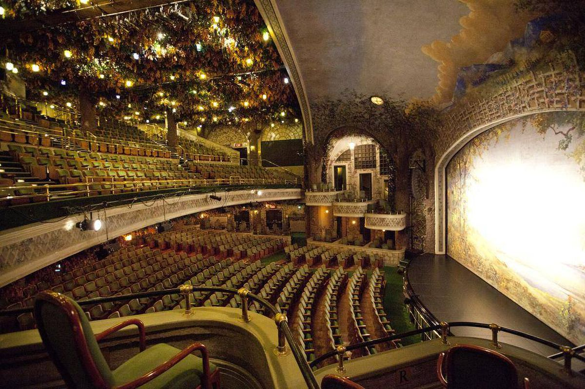 In Pictures: The century-old Elgin and Winter Garden Theatre - The ...