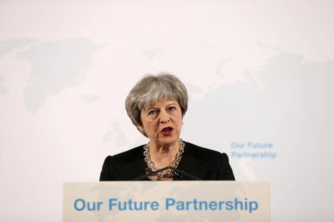 Britain Prime Minister calls European Union  to get on with Brexit vision talks
