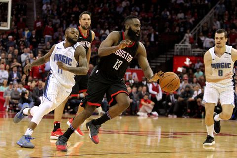 Rockets star Harden sets National Basketball Association  mark