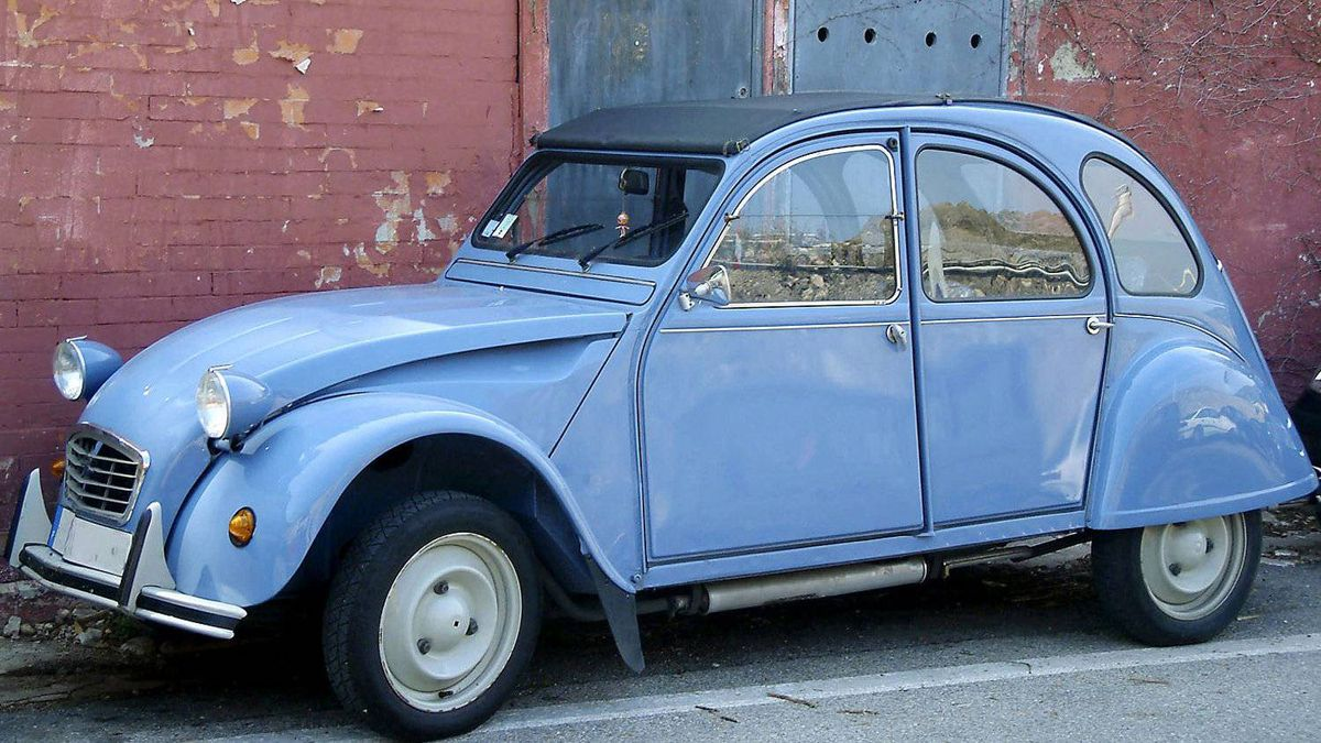 The Citroen 2CV was one of the most popular cars of all time. It was also one of the slowest. The original version was equipped with a nine horsepower engine. Yes - nine.