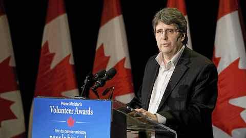 President and CEO of Imagine Canada, Marcel Lauziere.