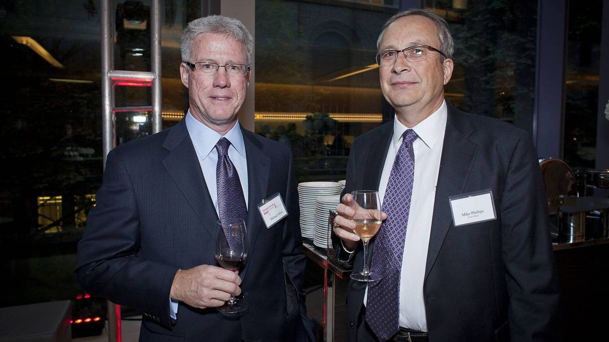 Michael Sifton (left) and Mike Phillips