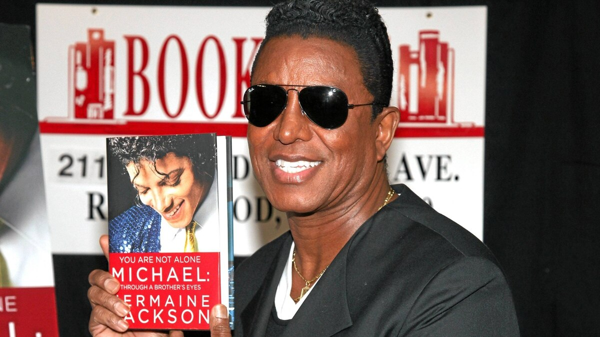 Jermaine Jackson promotes his book September 17, 2011 in Ridgewood, New Jersey.