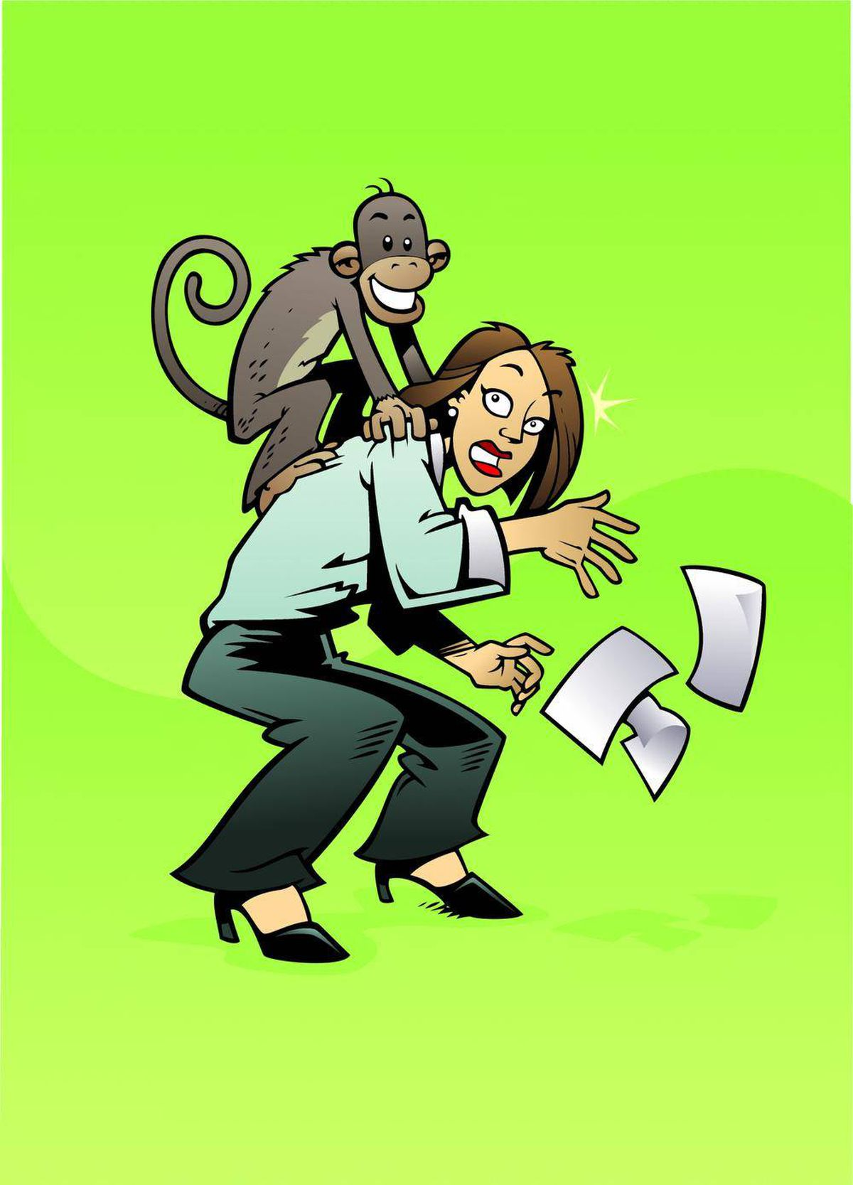 Managing problems lose the monkey on your back the globe and mail lose the monkey on your back the globe and mail fandeluxe Choice Image