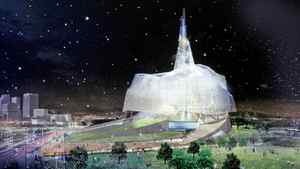 Canadian Museum for Human Rights in Winnipeg. Winning design by Antoine Predock.