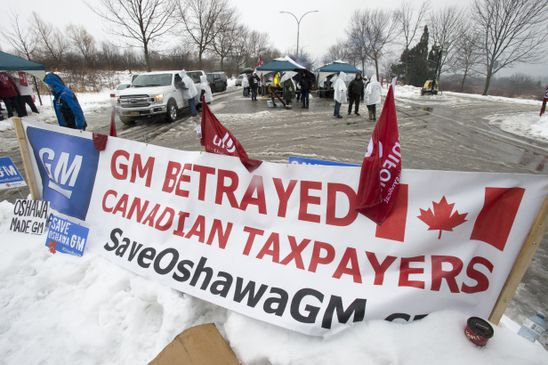 Unifor head rules out GM boycott in campaign to save Oshawa plant