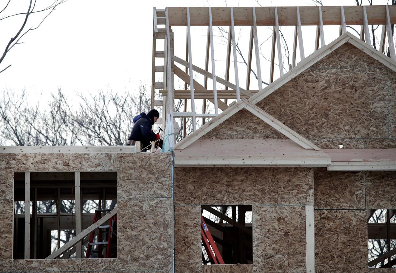 U.S. home building drops to near two-year low in March, with building permits weak