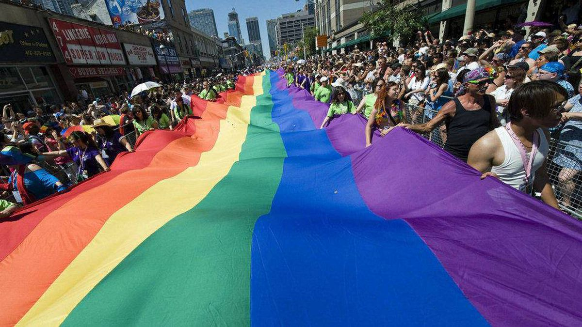 More than a million people attended Toronto's Pride parade on Sun., July 4.
