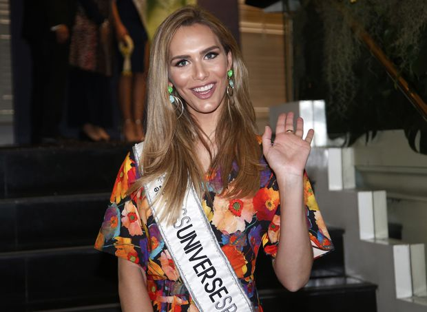 Miss Universe's first transgender contestant proud to be a role model
