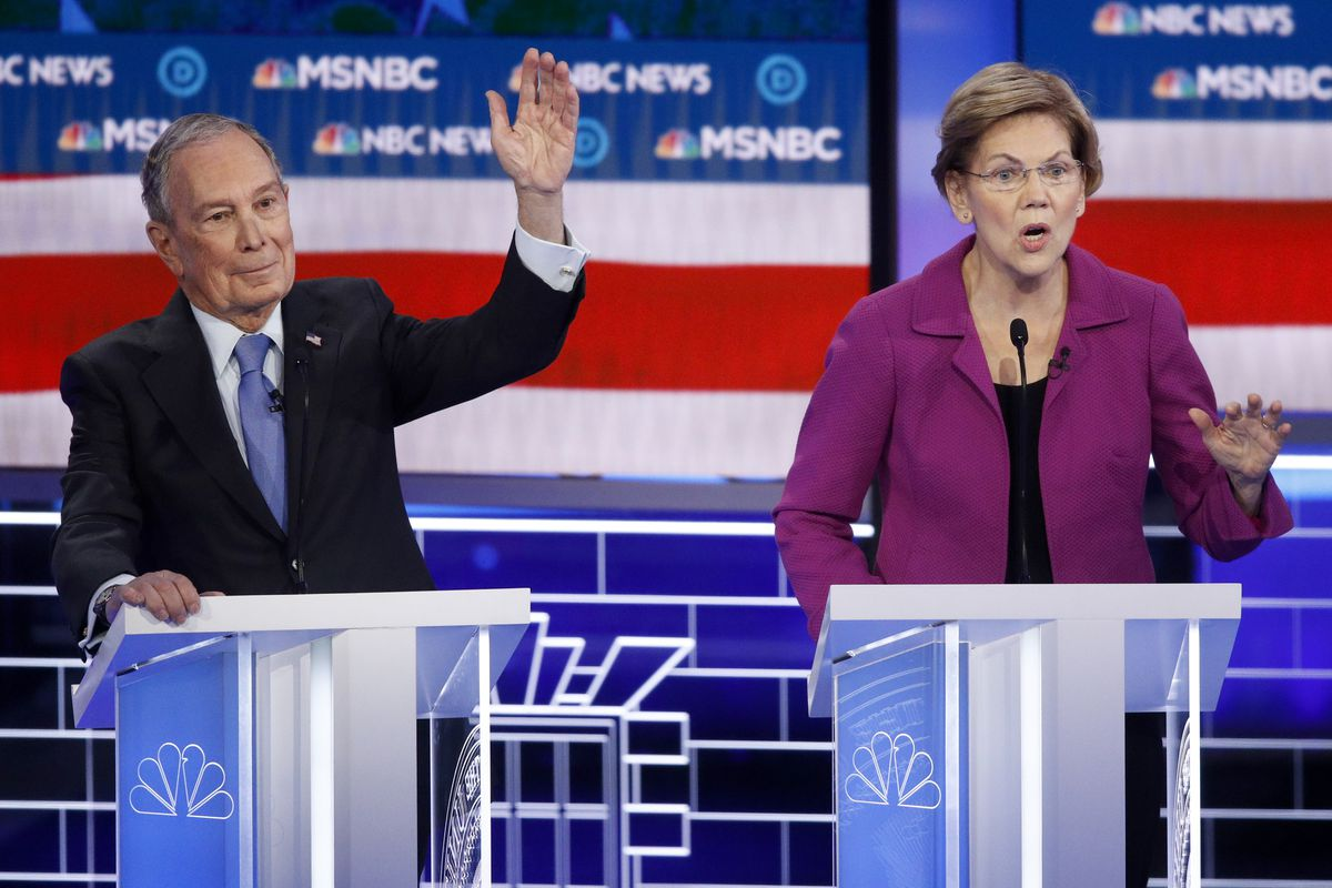 Bloomberg, Sanders under attack from rivals at Democrats' Nevada debate