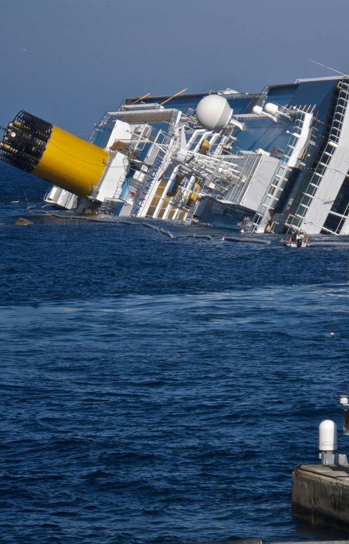 """DOCUMENTARY Cruise Ship Disaster: Inside the Concordia Discovery, 9 p.m. ET; 10 p.m. PT What really happened on-board the Costa Concordia? The running aground of the massive cruise ship after hitting a reef near the Italian coastline in early January caused the death of at least 25 people and garnered worldwide attention. Most of the headlines vilified the Concordia's captain, Francesco Schettino, for allegedly trying to save his own bacon before attending to the rescue of his 4,200-plus passengers. This new documentary does little to salvage Schettino's reputation. In previously unseen footage, the captain is shown speaking on the phone on the bridge, seemingly oblivious to the catastrophe unfolding; inexplicably, he keeps requesting """"tug boats"""" instead of rescue ships. In clinical fashion, the film deconstructs the disaster, with fresh perspectives from naval forensic specialists."""