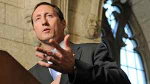 Defence Minister Peter MacKay speaks to reporters on Parliament Hill after a Tory caucus meeting Nov. 16, 2011.