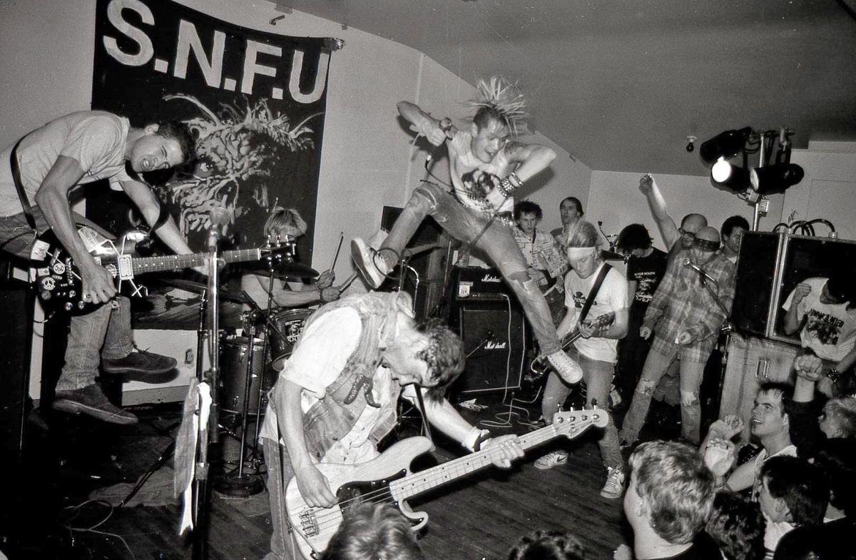 SNFU - Live - 1985