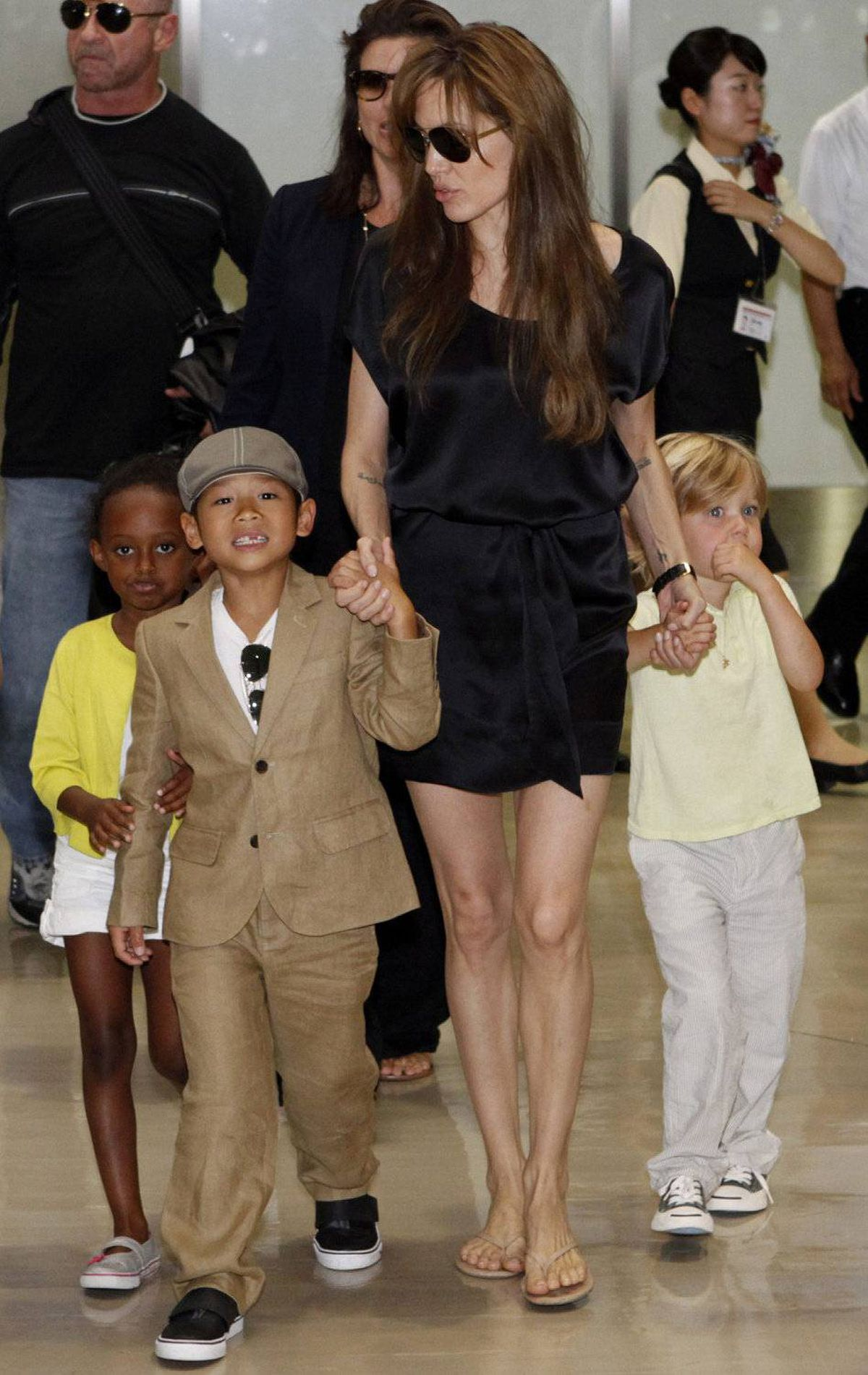 ANGELINA JOLIE 'I will never be as good a mother as [my mother] was. I will try my best, but I don't think I could ever be. She was - she was just grace incarnate. She was the most generous, loving - she's better than me.' Source: 60 Minutes