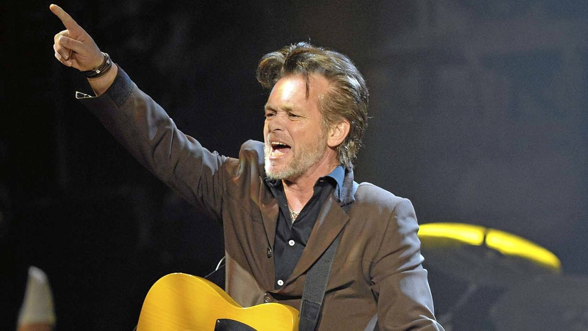 John Mellencamp performing at Massey Hall in Toronto on Wednesday.