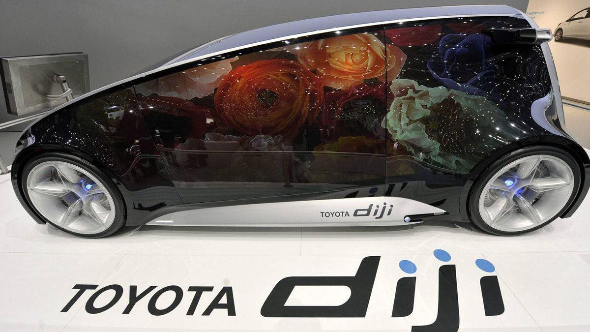 Toyota's diji concept.